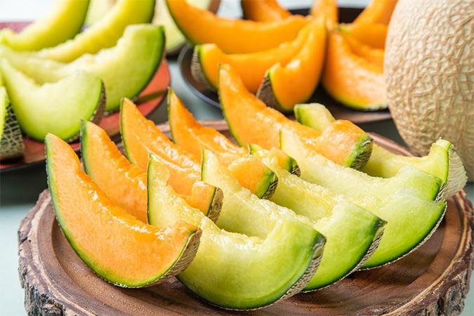 メロン食べ比べ&食べ放題フェアの画像