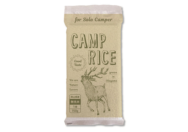 Camp Rice for Solo Camper(キャンプライス)商品パッケージ画像