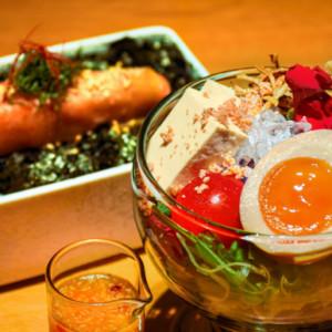 めんたい彩りサラダの画像