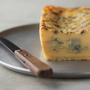 生ブルーチーズケーキ青の画像