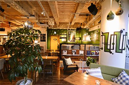 #802 CAFE&DINER 渋谷店の店内画像