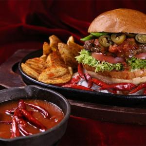 獄炎バーガーの画像