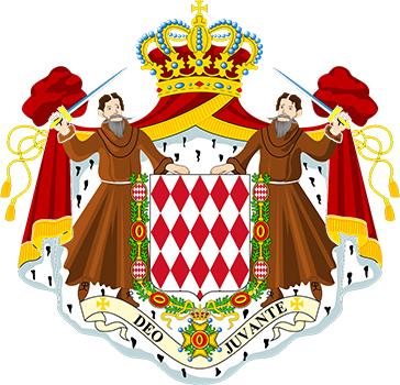 モナコ公室御用達の紋章