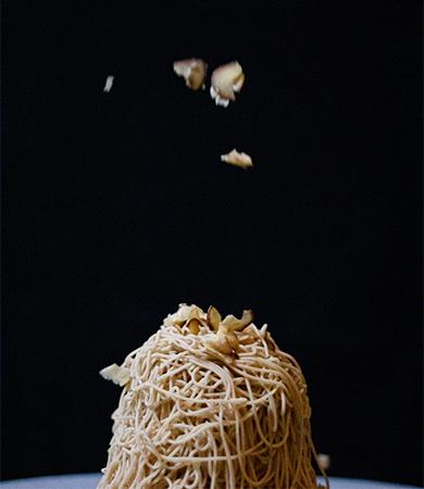 栗歩のモンブラン画像
