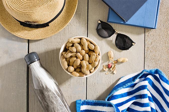 夏こそ食べたいピーナッツの画像