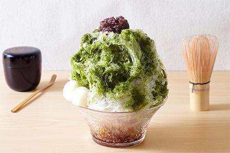 宇治抹茶の美味しさ「抹茶かき氷」の画像
