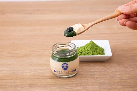 石山寺プリン濃い茶の画像
