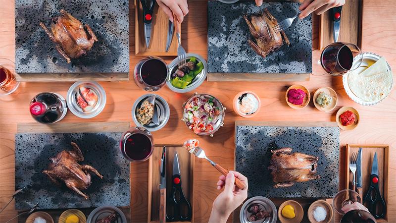 鳩肉の料理画像
