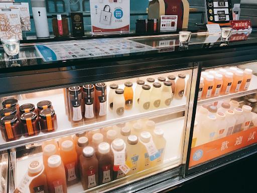 台湾の白木耳ジュース専門店の画像