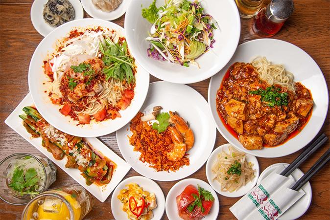 青山シャンウェイ渋谷の小吃(小皿料理)画像