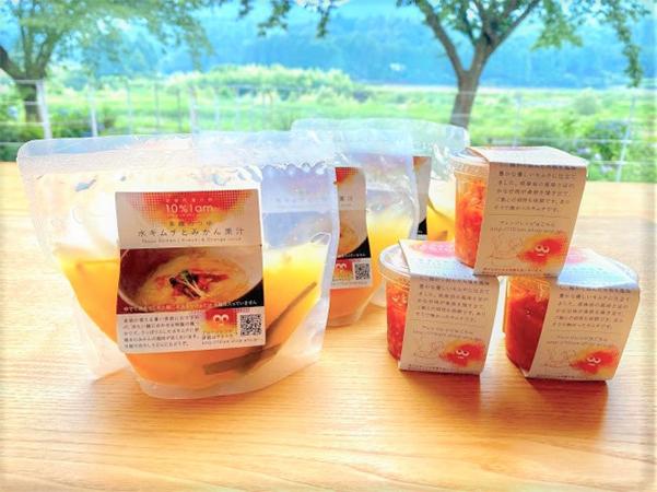 キムチで食べる韓流素麺つゆセットの画像