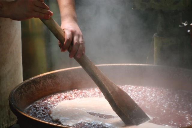 餡煮の風景画像