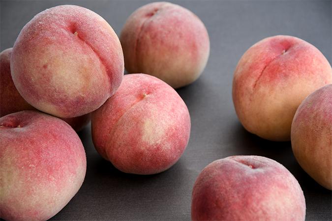 福島県産の桃