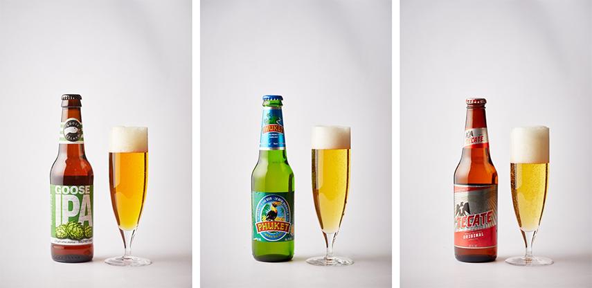 「グースアイランドIPA」「プーケットビール」「テカテビール」
