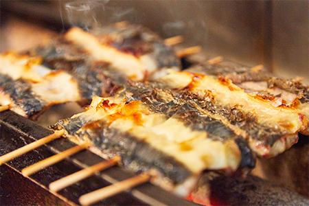 鰻の素焼き