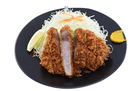 嬉嬉豚熟成肉 ねむるぶたおふトンロースとんかつ定食