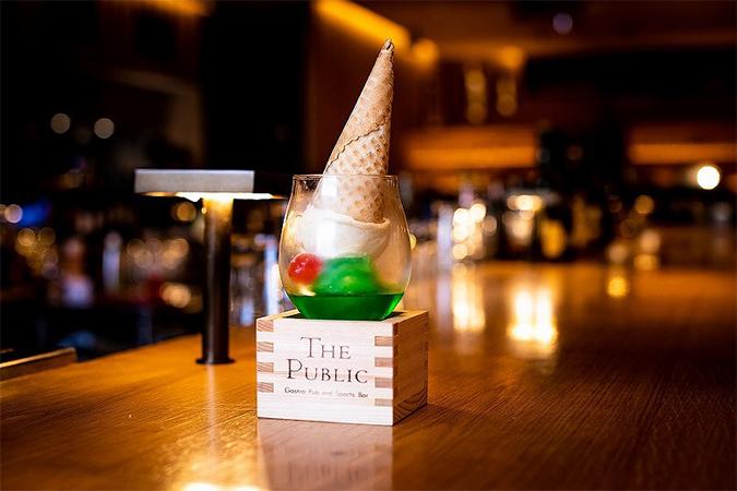 静岡クラウンメロンのクリームアイスボール