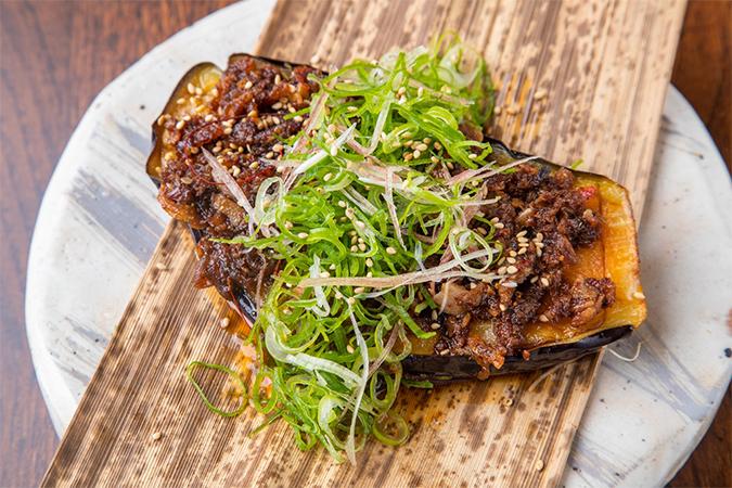 高知県産米なすのマーラー焼