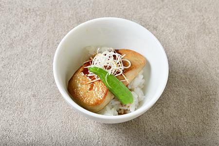 フォワグラ丼 照り焼風味