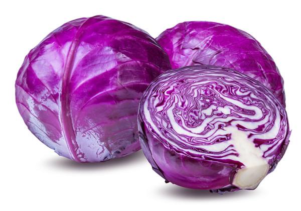 紫キャベツの画像
