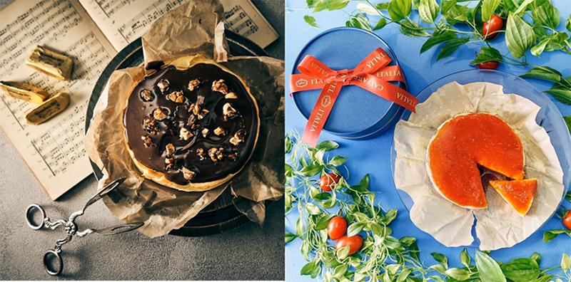 カファレル大人のチーズケーキ2種