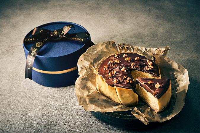 ジャンドゥーヤチーズケーキ
