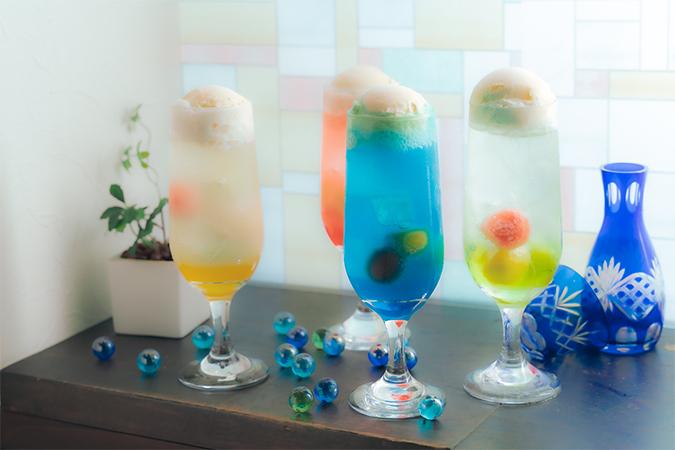 日本酒クリームソーダ