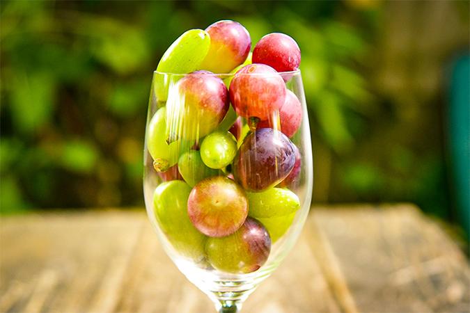 信州産ブドウ粒の詰め合わせ