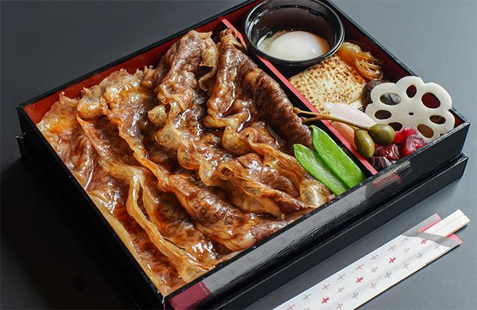 佐賀県産黒毛和牛 霜降りすき焼き弁当