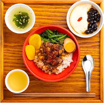 魯肉飯(ルーローハン)セット