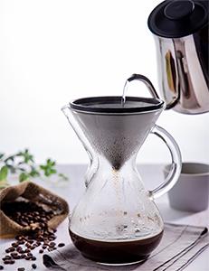 プアオーバーコーヒー ブルーグローブブレンド
