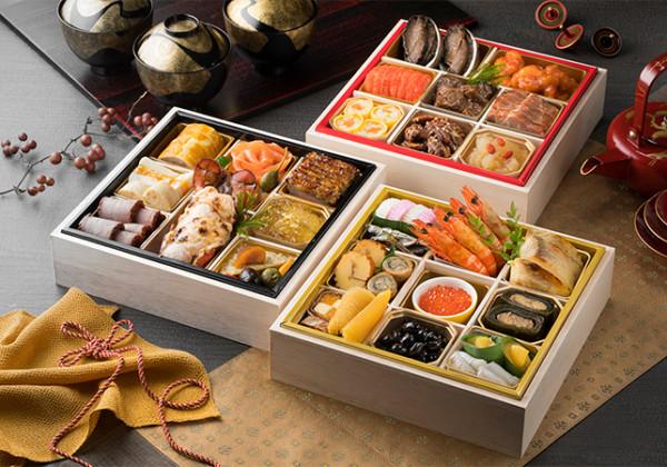 東京ドームホテル「おせち料理」和洋中 三段重