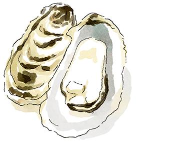 「牡蠣」が主役