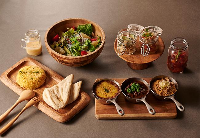 「Delicious Shinshu Curry Set」1名分