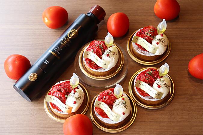 トマトマと小豆島産オリーブオイル