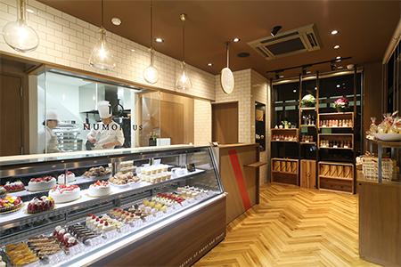 Pâtisserie NUMOROUS 店舗
