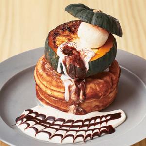 まるごとかぼちゃのパンケーキ