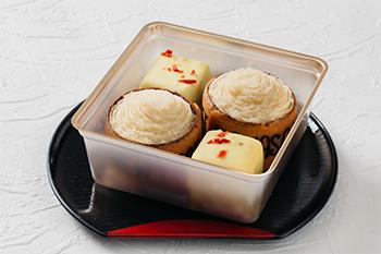 招福ケーキ二種