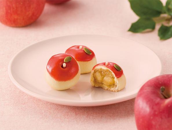 京菓子處鼓月「紅りんご」