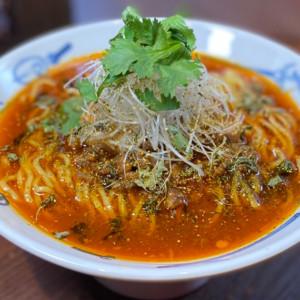 新宿中村屋×麺屋武蔵の「特製麻辣カリー麺」