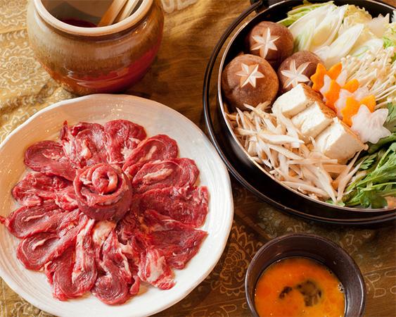 紅葉鍋(北海道産エゾ鹿)