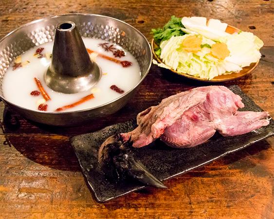 カラス火鍋(九州産の鴉)