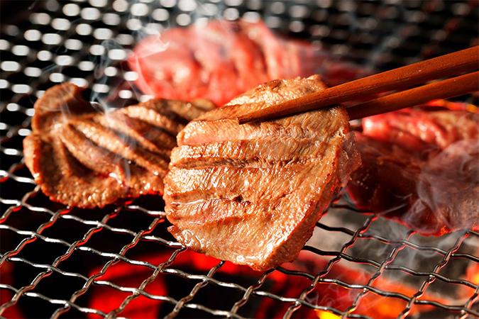 仙台名物肉厚牛たん塩味