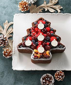 ~タルトプレミエ~赤いフルーツのクリスマスツリータルト