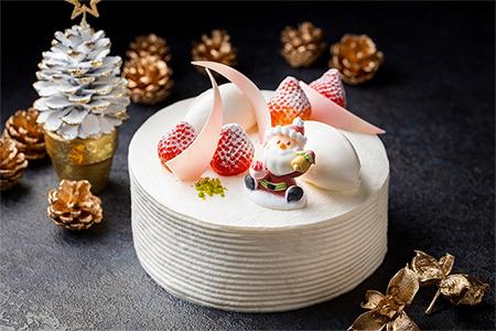 クリスマスストロベリーショートケーキ