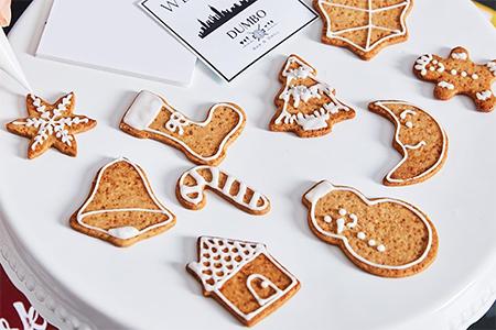 クリスマス アイシングクッキー