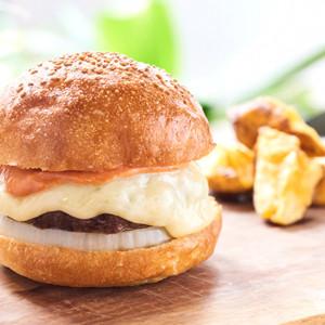 コーラとハンバーガーの身体にやさしくて美味しいハンバーガー