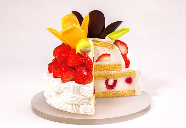 ダブルショートケーキ