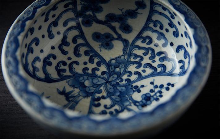 江戸時代末期、美濃焼の名陶工・塚本亀吉の亀吉どんぶり