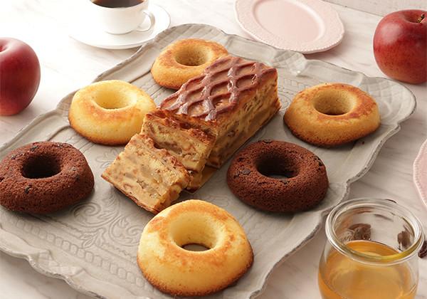 リンゴパイ&焼きドーナツセット